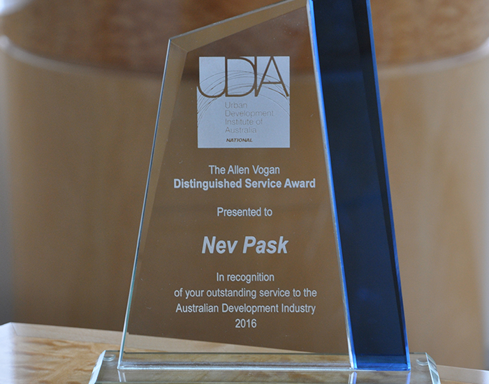 Nev Pask Recognised for Distinguished Service